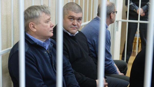Обвиняемые по делу о взятках в ФСЗН и Нацбанке - Sputnik Беларусь