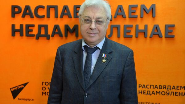 Герой Расіі, лётчык-касманаўт Юрый Батурын - Sputnik Беларусь