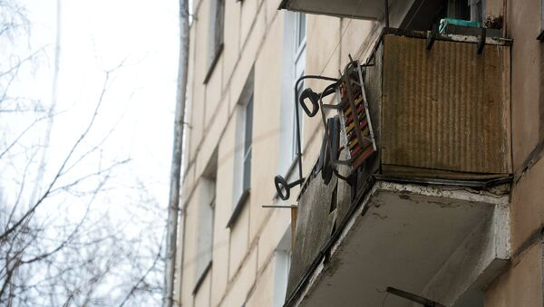 Балкон жилого дома, архивное фото - Sputnik Беларусь
