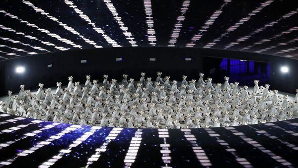 Адкрыццё Алімпіяды 2018 - Sputnik Беларусь