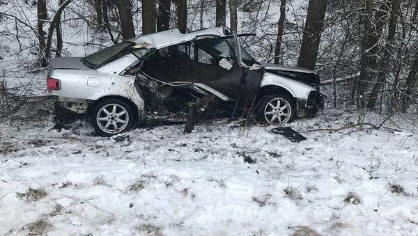 Авария в Лидском районе - Sputnik Беларусь