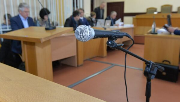 Суд по делу о взятках в Нацбанке и Фонде соцзащиты - Sputnik Беларусь