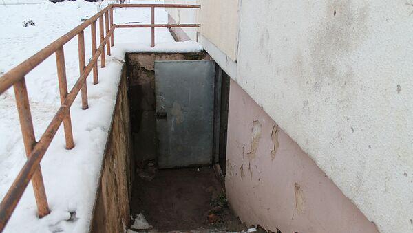 Вход в подвал, архивное фото - Sputnik Беларусь