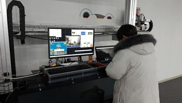 Афиша-пылесос и интерактивные фотобоксы: чудо-техника в Пхенчхане - Sputnik Беларусь