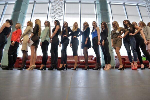 Кастинг Мисс Беларусь-2018 в Минске - Sputnik Беларусь
