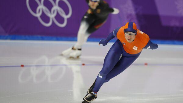 Голландский конькобежец Свен Крамер - Sputnik Беларусь