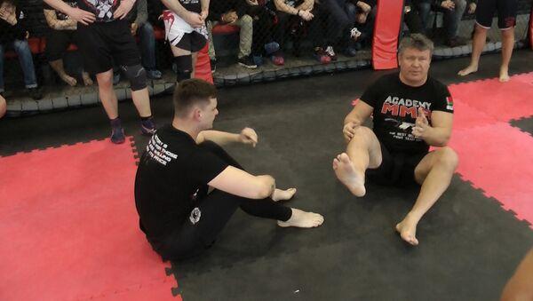 Мастер-класс от чемпиона UFC и актера Олега Тактарова - Sputnik Беларусь