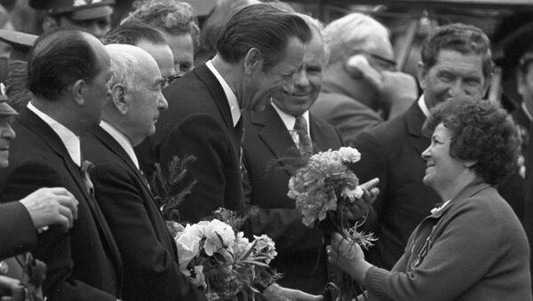 Петр Машеров на праздновании 30-летия освобождения Беларуси и победы в Великой Отечественной войне - Sputnik Беларусь