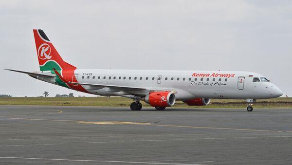 Самолет в аэропорту Найроби, архивное фото - Sputnik Беларусь