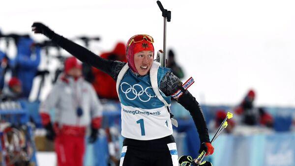 Лаура Дальмайер на алімпійскай гонцы 10 км - Sputnik Беларусь