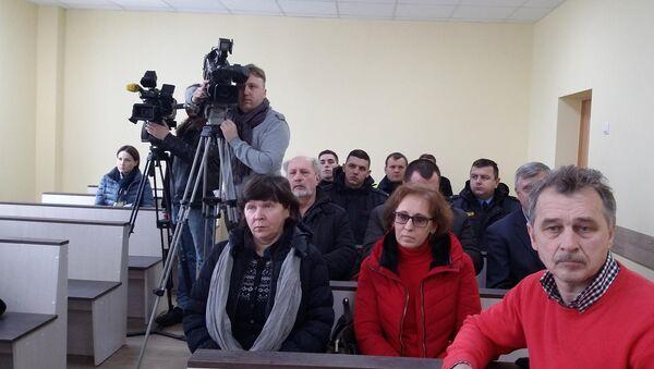 Лидер ОГП Анатолий Лебедько в зале суда - Sputnik Беларусь