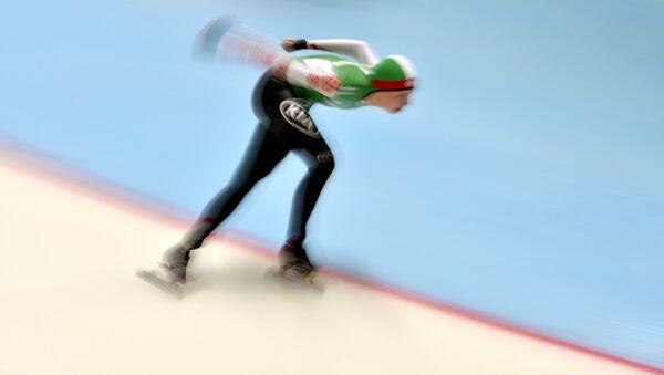 Белорусская конькобежка Марина Зуева, архивное фото - Sputnik Беларусь