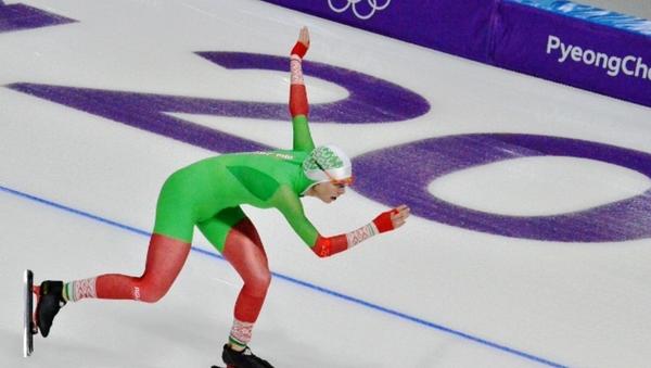 Белорусская конькобежка Марина Зуева - Sputnik Беларусь