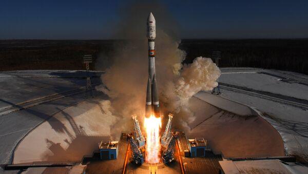 Запуск ракеты Саюз-2.1а з касмадрома Ўсходні - Sputnik Беларусь