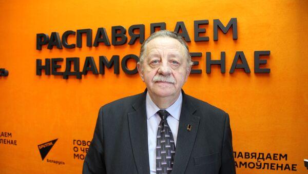 Исполнительный директор ассоциации Возобновляемая энергетика, доктор философии МАИТ в области информационных технологий Владимир Нистюк - Sputnik Беларусь