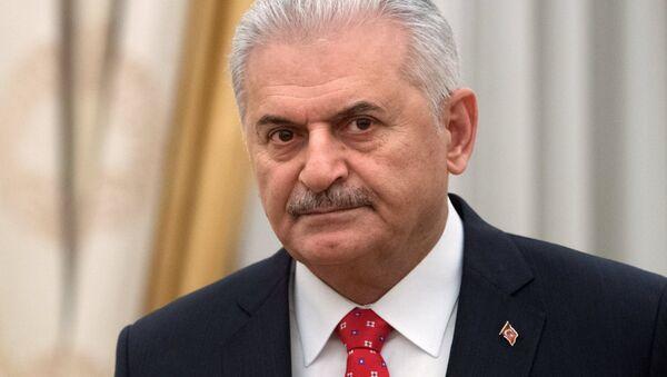 Премьер-министр Турции Бинали Йылдырым - Sputnik Беларусь