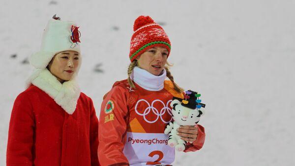Спорстменка принесла сборной Беларуси первую медаль зимних Олимпийских игр-2018 - Sputnik Беларусь
