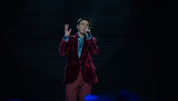 Исполнитель от Беларуси на Евровидении 2018 Никита Алексеев - Sputnik Беларусь