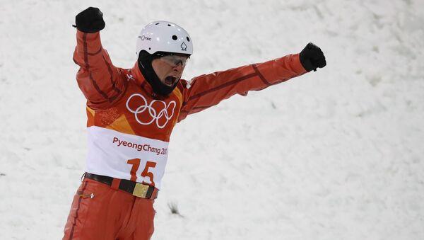 Белорусский фристайлист Станислав Гладченко на Олимпийских играх 2018 - Sputnik Беларусь