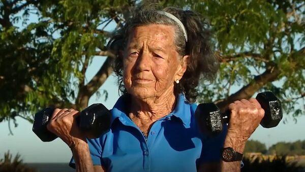 83-летняя дама рыхтуецца да ўзыходжання на гару Аканкагуа - Sputnik Беларусь