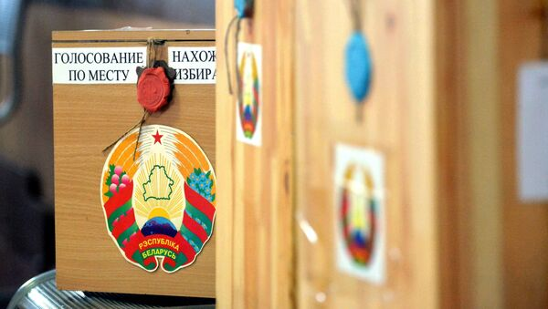 Местные выборы в Беларуси: урна для голосования - Sputnik Беларусь