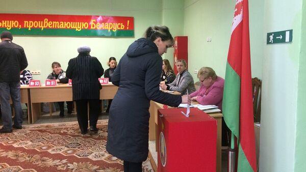 Выборах в местные Советы депутатов на участке №71 в Бобруйске - Sputnik Беларусь