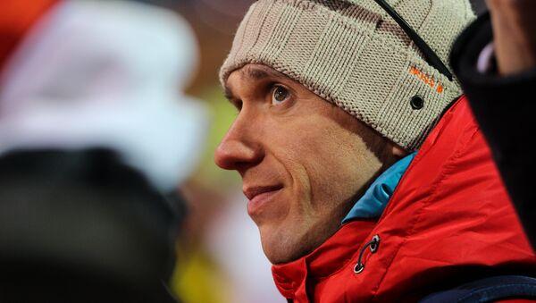 Антон Кушнир пришел поддержать своего друга по команде - Sputnik Беларусь