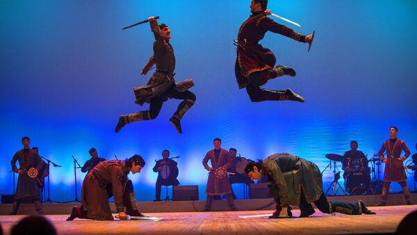 Нацыянальны грузінскі балет Сухішвілі ведаюць у многіх краінах свету - Sputnik Беларусь