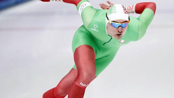 Белорусский конькобежец Игнат Головатюк - Sputnik Беларусь