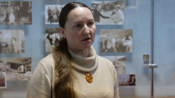 Руководитель пресс-службы Белтелерадиокомпании Светлана Смолонская-Красковская - Sputnik Беларусь