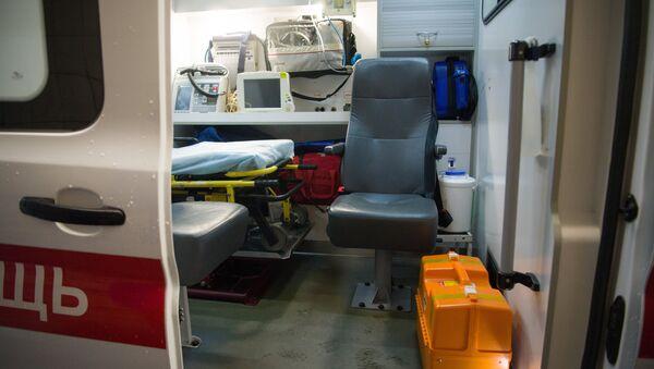 Оборудование машины скорой помощи, архивное фото - Sputnik Беларусь