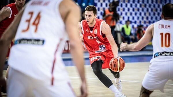 Матч квалификации баскетбольного ЧМ-2019 Беларусь - Испания - Sputnik Беларусь