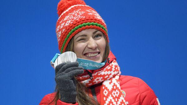 Олимпийская чемпионка Дарья Домрачева - Sputnik Беларусь