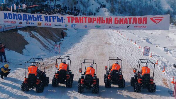 Тракторный биатлон - Sputnik Беларусь