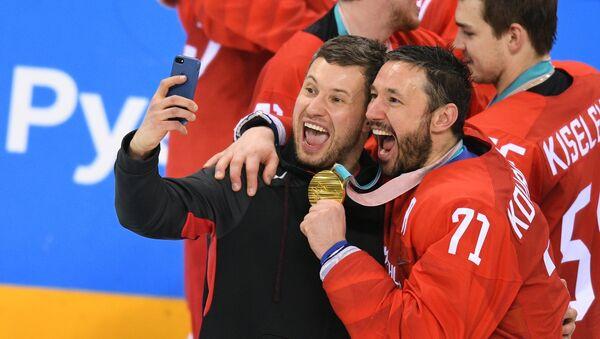 Российские хоккеисты стали олимпийскими чемпионами - Sputnik Беларусь