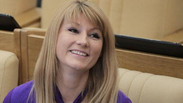 Светлана Журова на пленарном заседании Государственной Думы РФ - Sputnik Беларусь