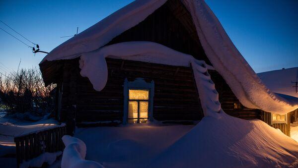 Жилой дом в деревне - Sputnik Беларусь