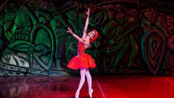 Солистка Государственного балета Грузии Нино Самадашвили - Sputnik Беларусь
