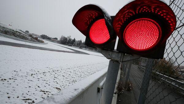 Снег на трассе Каталунья - Sputnik Беларусь
