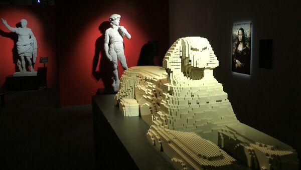 Мільёны кубікаў Лега: выстава незвычайнай скульптуры адкрылася ў Мінску - Sputnik Беларусь
