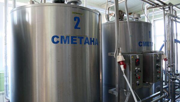 Производство молочных продуктов - Sputnik Беларусь