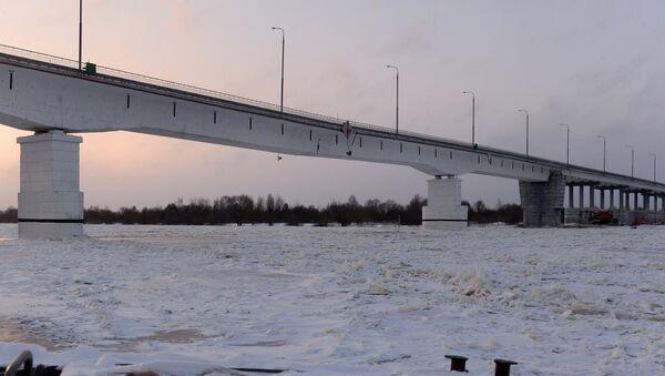 Мост праз Прыпяць у Жыткавічах - Sputnik Беларусь