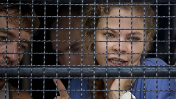 Настя Рыбка в тюрьме в Таиланде, архивное фото - Sputnik Беларусь