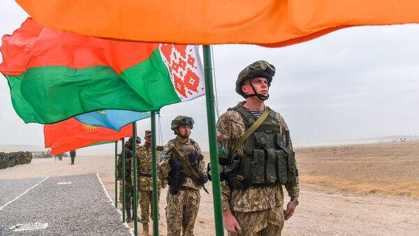 Вучэнні АДКБ, архіўнае фота - Sputnik Беларусь