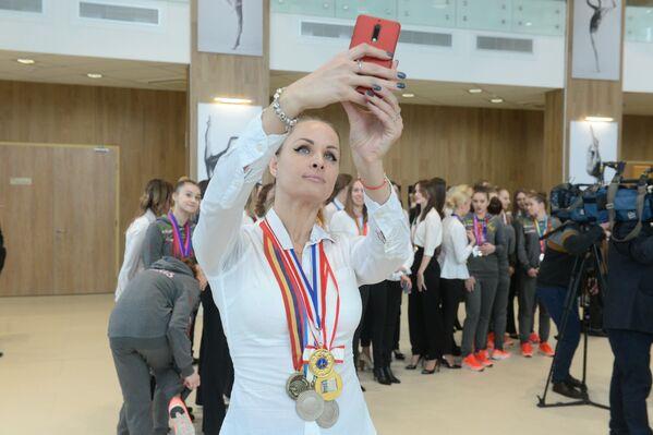 Республиканский центр олимпийской подготовки по художественной гимнастике - Sputnik Беларусь