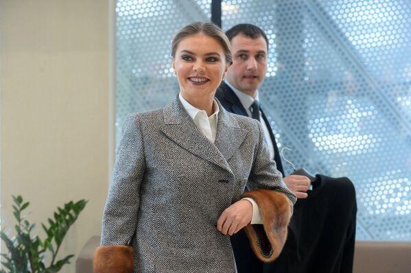 На открытие приехала олимпийская чемпионка, российская гимнастка Алина Кабаева - Sputnik Беларусь