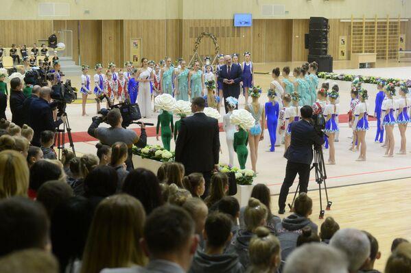 Лукашенко на открытии центра художественной гимнастики - Sputnik Беларусь
