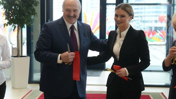 Александр Лукашенко и Алина Кабаева - Sputnik Беларусь