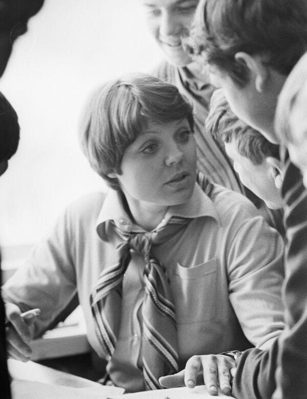 Сельская учительница Нина Стельмах, 1983 год. - Sputnik Беларусь