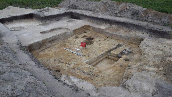 Унікальныя славянскія паселішчы знайшлі на Палессі - Sputnik Беларусь